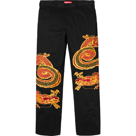 Dragon Work Pant (Black)