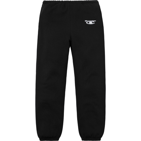 Supreme®/Champion® 3D Metallic Sweatpant (Black)