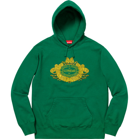 Love or Hate Hooded Sweatshirt (Green)