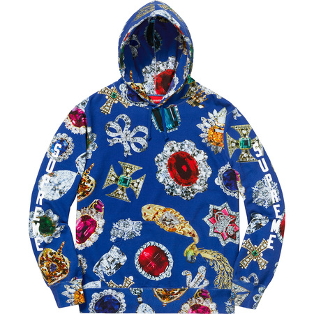 Jewels Hooded Sweatshirt (Royal)