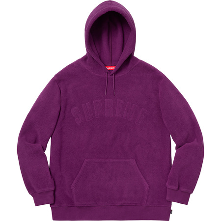 Polartec® Hooded Sweatshirt (Purple)