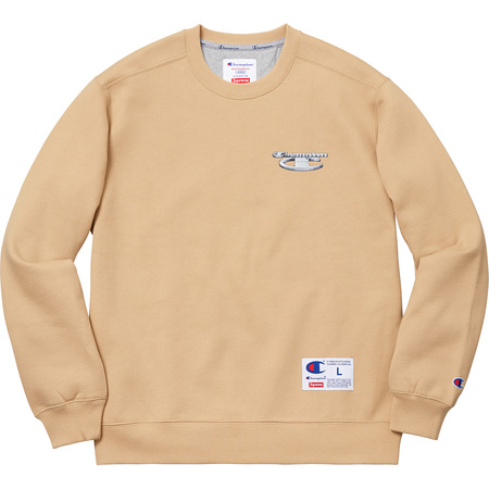 Supreme®/Champion® 3D Metallic Crewneck (Tan)