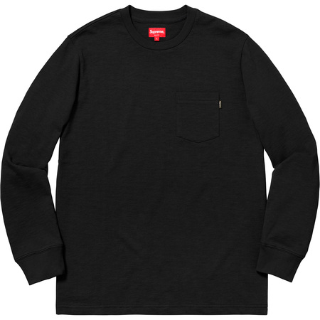 L/S Pocket Tee (Black)