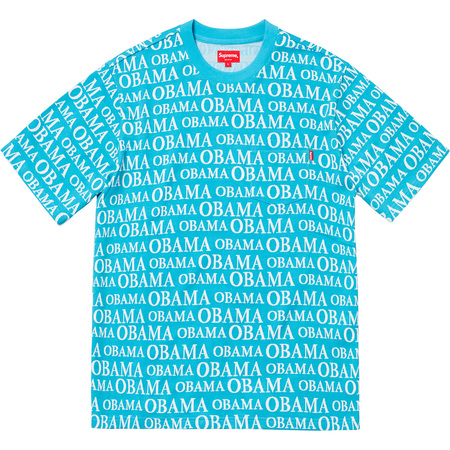 Obama Jacquard S/S Top (Bright Blue)