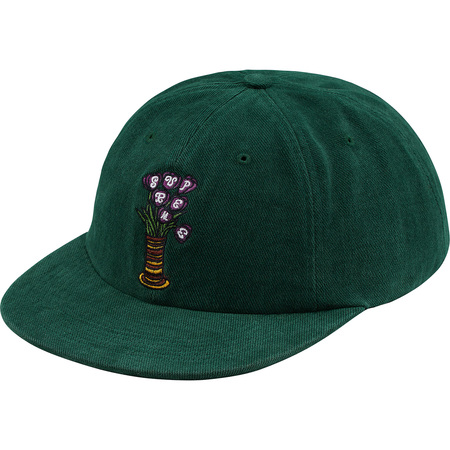 Flowers 6-Panel (Dark Green)
