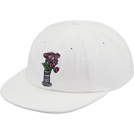 Flowers 6-Panel (White)