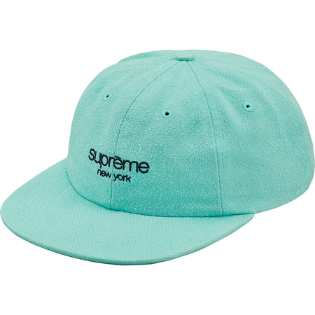 Napped Canvas Classic Logo 6-Panel (Dusty Teal)