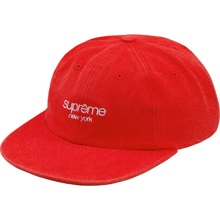 Napped Canvas Classic Logo 6-Panel (Red)