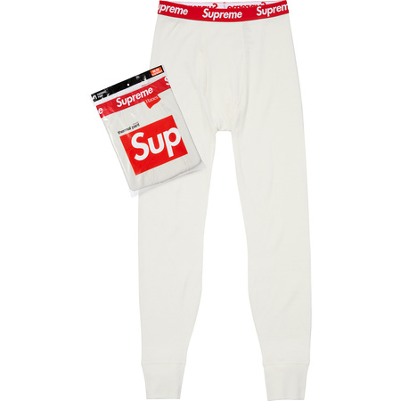 Supreme®/Hanes® Thermal Pant (1 Pack) (Natural)