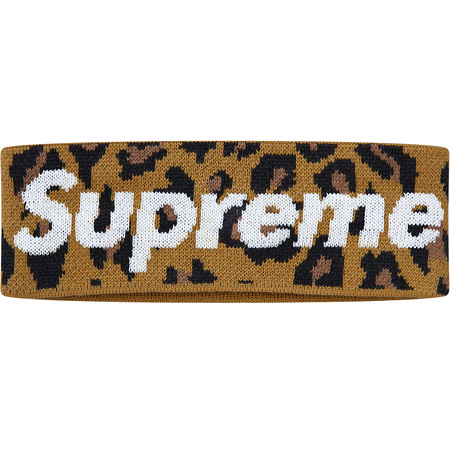 New Era® Big Logo Headband (Leopard)