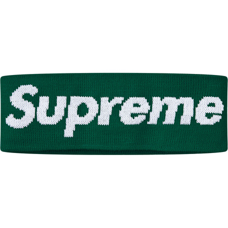 New Era® Big Logo Headband (Dark Green)