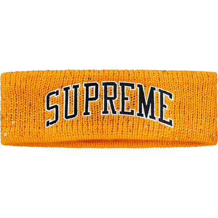 New Era® Sequin Arc Logo Headband (Yellow)