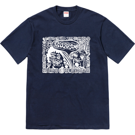 Faces Tee (Navy)
