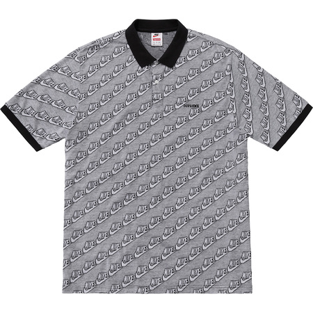 Supreme®/Nike® Jacquard Polo (Black)