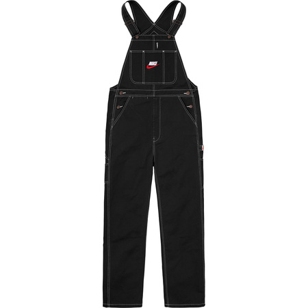 Supreme®/Nike® Cotton Twill Overalls (Black)