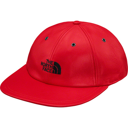 Supreme®/The North Face® Leather 6-Panel (Red)