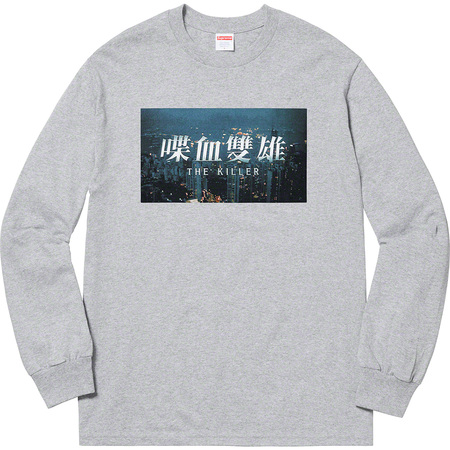 The Killer L/S Tee (Heather Grey)