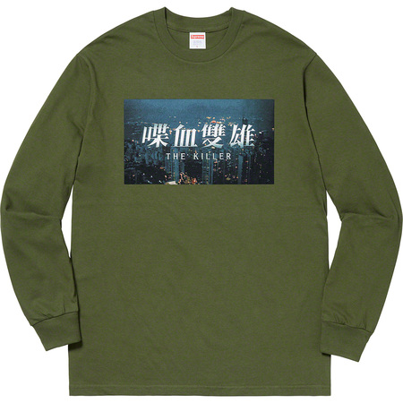 The Killer L/S Tee (Olive)