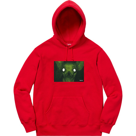 Chris Cunningham Chihuahua Hooded Sweatshirt (Red)