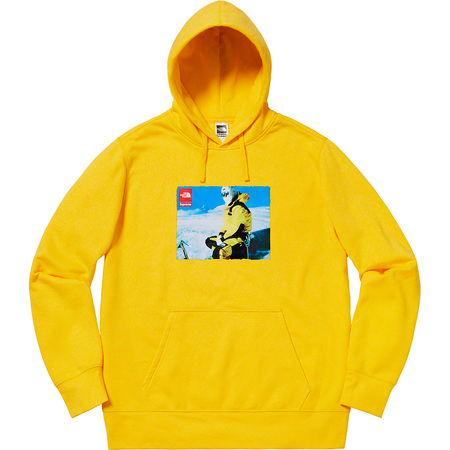 Supreme®/The North Face® Photo Hooded Sweatshirt (Yellow)