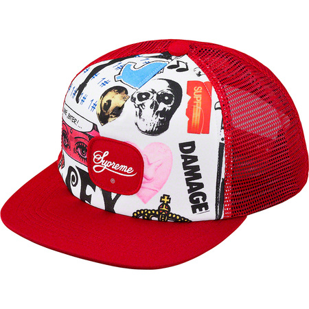 Blood Lust Mesh Back 5-Panel (Red)