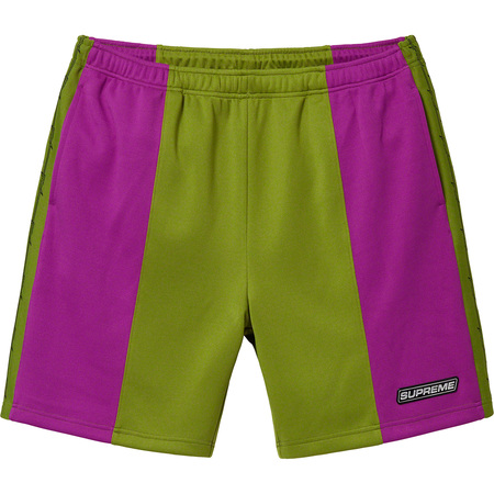 Barbed Wire Athletic Short (Purple)
