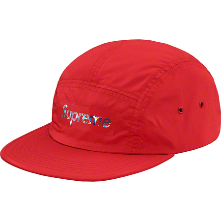Holographic Logo Camp Cap (Red)