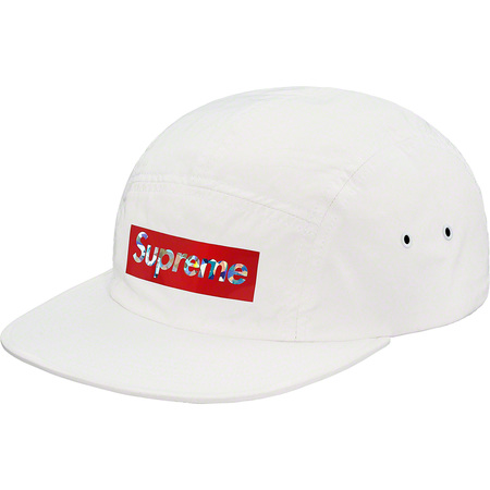 Holographic Logo Camp Cap (White)