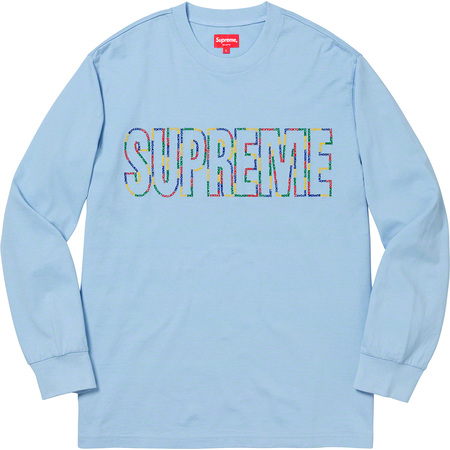 International L/S Tee (Light Blue)