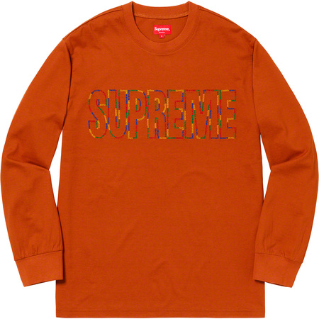International L/S Tee (Rust)