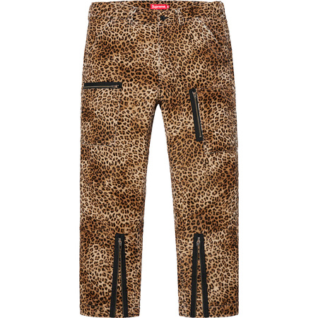 Velvet Flight Pant (Leopard)