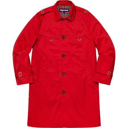 D-Ring Trench Coat (Red)