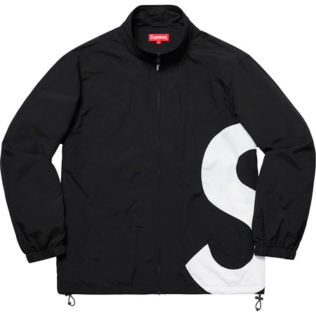 S Logo Track Jacket (Black)