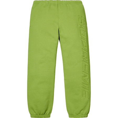 Set In Logo Sweatpant (Lime)