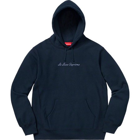 Le Luxe Hooded Sweatshirt (Navy)