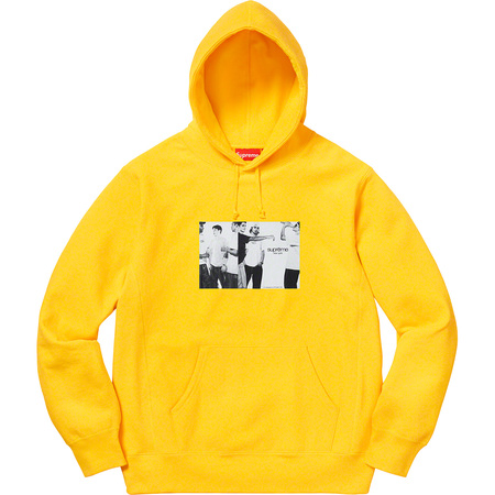 Classic Ad Hooded Sweatshirt (Yellow)
