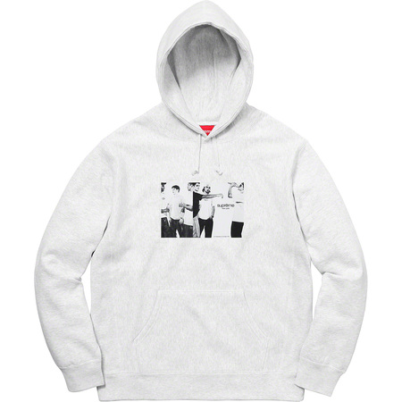 Classic Ad Hooded Sweatshirt (Ash Grey)