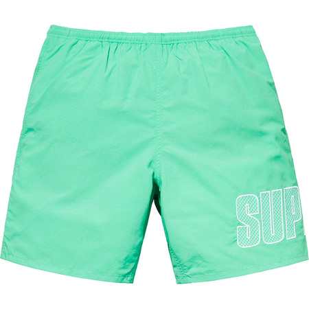 Logo Appliqué Water Short (Mint)