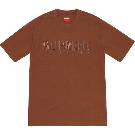 Gradient Logo Tee (Brown)