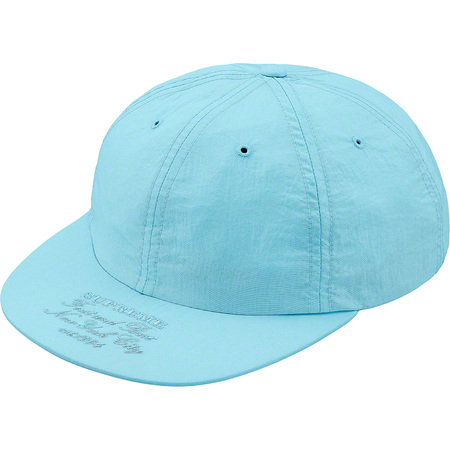 First And Best Nylon 6-Panel (Light Blue)