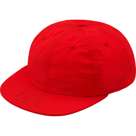 First And Best Nylon 6-Panel (Red)