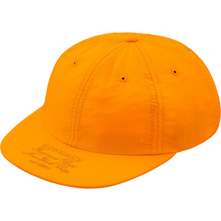 First And Best Nylon 6-Panel (Light Orange)