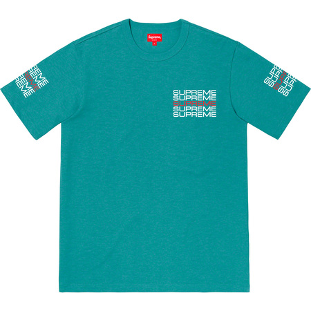 Stack Logo Tee (Dusty Teal)