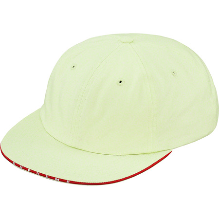 Visor Logo Twill 6-Panel (Light Lime)