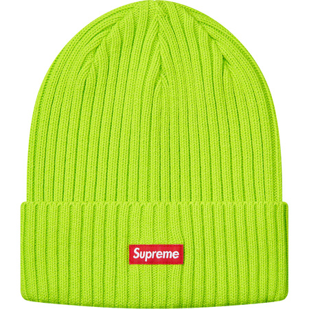 Overdyed Beanie (Lime)