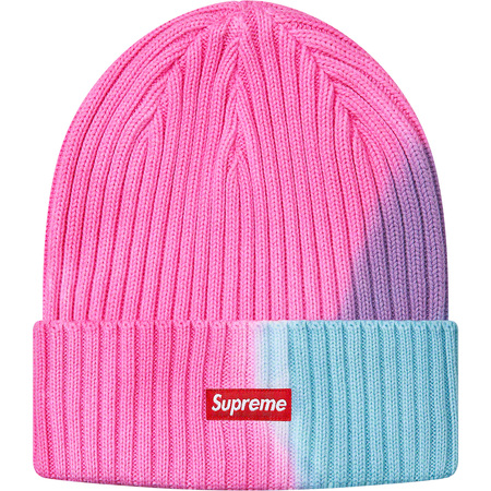 Overdyed Beanie (Pink Tie Dye)