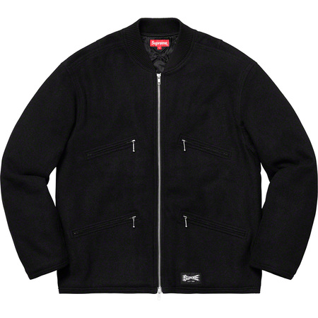 Zip Car Jacket (Black)