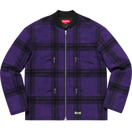 Zip Car Jacket (Purple)