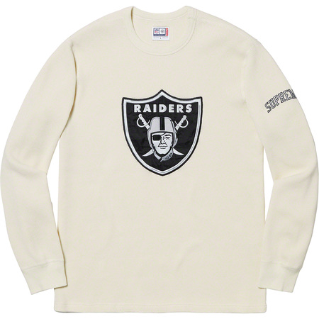 Supreme®/NFL/Raiders/'47 Thermal (Natural)