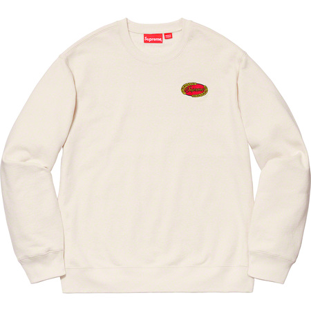 Chain Logo Crewneck (Natural)